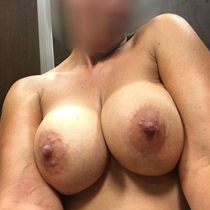 Jag vill att du kommer på mina bröst
